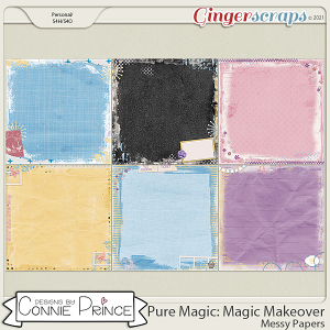 PureMagic: Magic Makeover - Messy Papers by Connie Prince