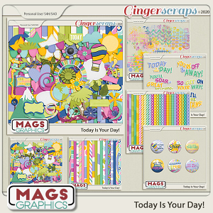 Today Is The Day BUNDLE by MagsGraphics