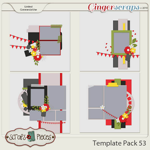 Template Pack 53 by Scraps N Pieces