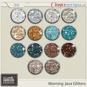Morning Java Glitters by Aimee Harrison