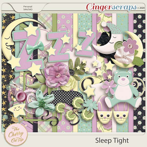 The Cherry On Top:  Sleep Tight Scrapbooking Kit