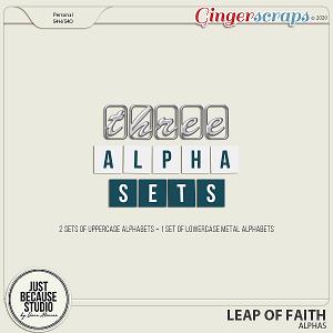 Leap Of Faith Alphas by JB Studio