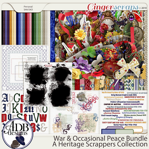 War and Occasional Peace Bundle by ADB Designs