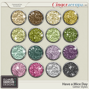 Have a Mice Day Glitters by Aimee Harrison