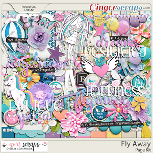 Fly Away - Page Kit - by Neia Scraps