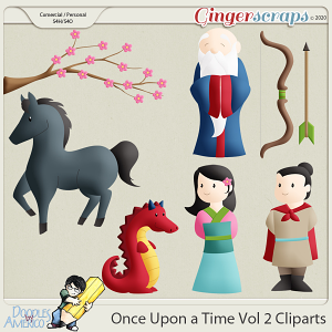 Doodles By Americo: Once Upon a Time Vol 2 Cliparts