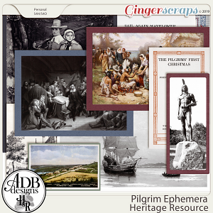 Heritage Resource Pilgrim Ephemera by ADB Designs