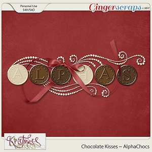 Chocolate Kisses Alphachocs