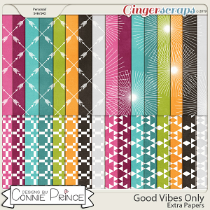 Good Vibes Only - Extra Papers by Connie Prince