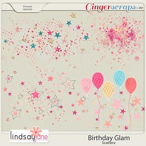 Birthday Glam Scatterz by Lindsay Jane