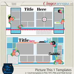 Picture This 1 Templates by Miss Fish