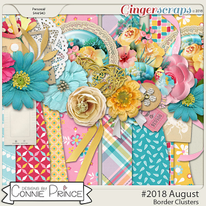 #2018 August - Border Clusters by Connie Prince