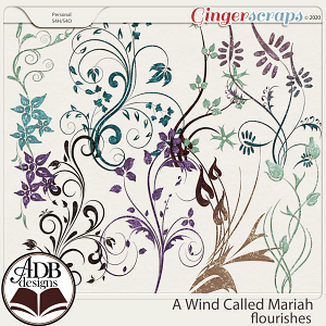 A Wind Called Mariah Flourishes by ADB Designs