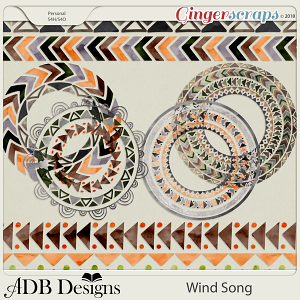 Wind Song Shields & Borders by ADB Designs