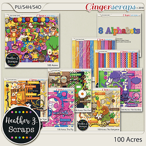 100 Acres BUNDLE by Heather Z Scraps