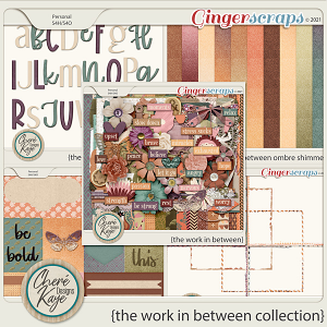 The Work In Between Collection by Chere Kaye Designs