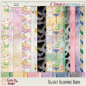 Sweet Sleeping Baby Backgrounds Papers