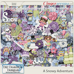 A Snowy Adventure {Kit} by Day Dreams 'n Designs