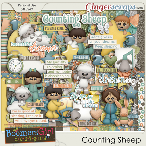 Counting Sheep by BoomersGirl Designs