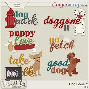 Dog Gone It Titles by Tami Miller and Aimee Harrison