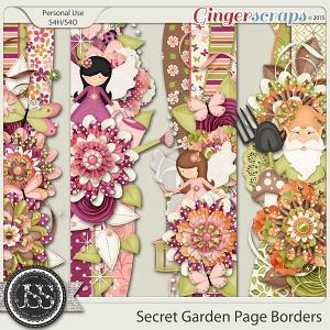 Secret Garden Page Borders