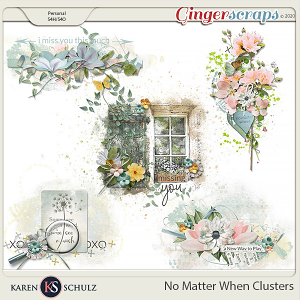 No Matter When Clusters by Karen Schulz