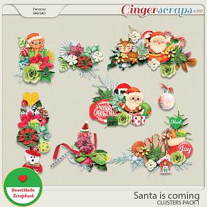 Santa is coming - clusters pack 1