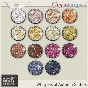 Whispers of Autumn Glitters by Aimee Harrison