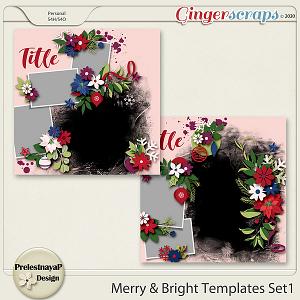 Merry & Bright Templates Set1