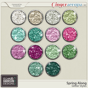 Spring Along Glitters by Aimee Harrison