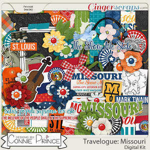 Travelogue Missouri - Kit by Connie Prince