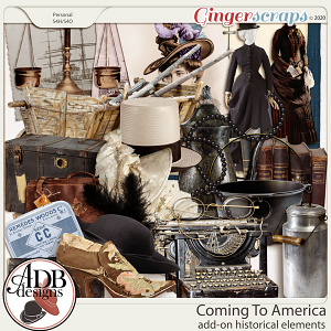 Coming To America Add On Historical Elements by ADB Designs
