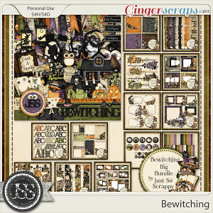 Bewitching Digital Scrapbooking Bundle