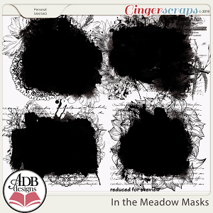 In the Meadow Masks by ADB Designs