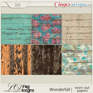 Wonderfall: Worn Out Papers by LDragDesigns