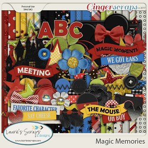Magic Memories Page Kit