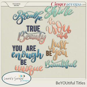 BeYOUtiful Titles