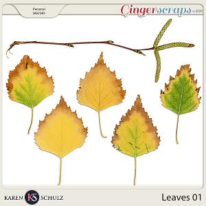 Leaves 01 by Karen Schulz