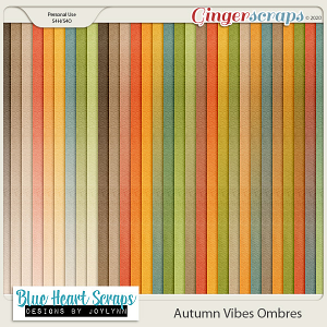 Autumn Vibes Ombre Paper Pack