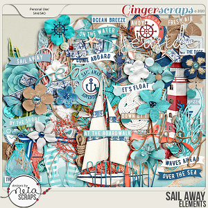 Sail Away - Elements - by Neia Scraps