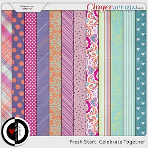 Fresh Start: Celebrate Together Patterns