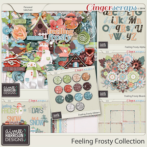 Feeling Frosty Collection by Aimee Harrison