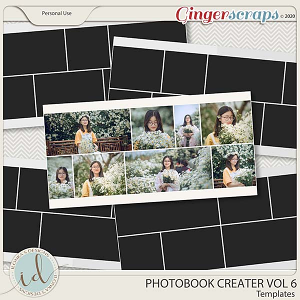 Photobook Creater Vol 6 by Ilonka's Designs
