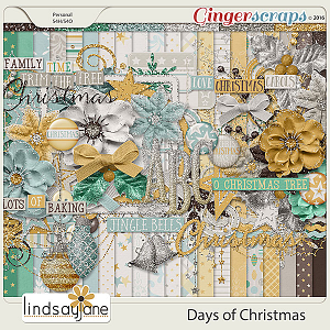 Days of Christmas by Lindsay Jane