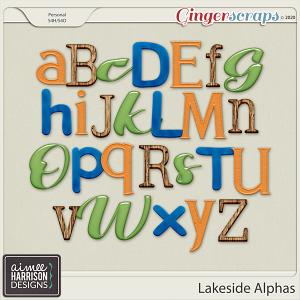 Lakeside Alpha Sets by Aimee Harrison