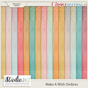 Make A Wish Ombre Paper Pack
