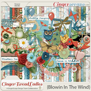 GingerBread Ladies Monthly Mix: Blowin' In The Wind