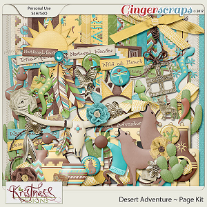 Desert Adventure Page Kit