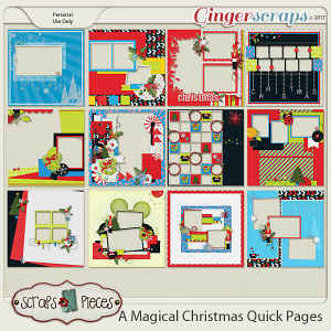 A Magical Christmas Quick Pages
