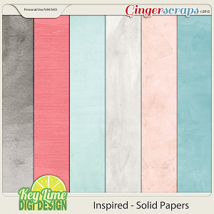 Inspired Painterly Papers